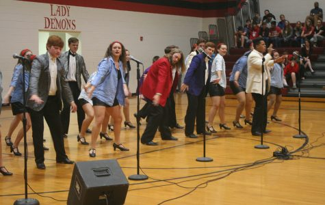 Reflections performs at DMS