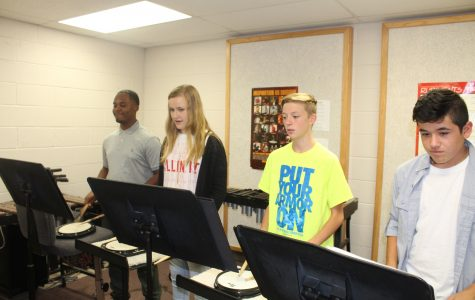 Band program plays on at DMS