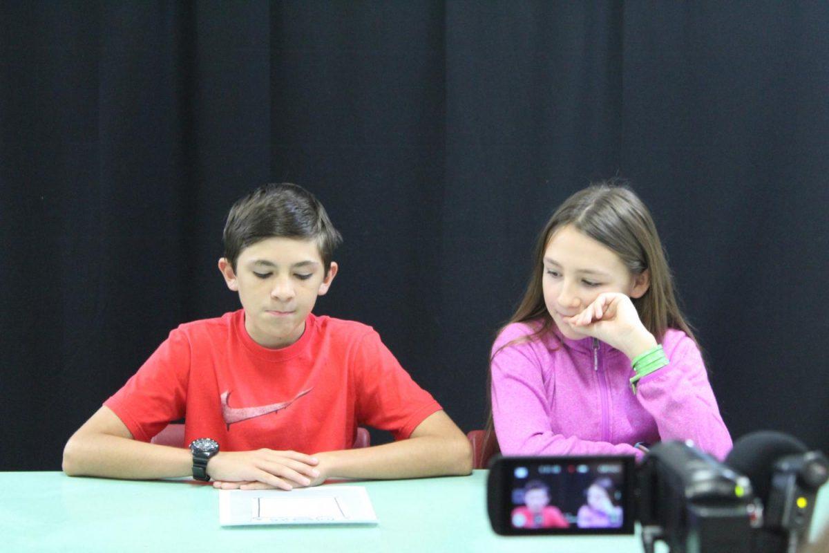 Bennett Jensen and Anna Scott provide an update on DMS club as a segment of the DMS News Update.