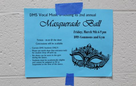 Masquerade dance rescheduled for Friday