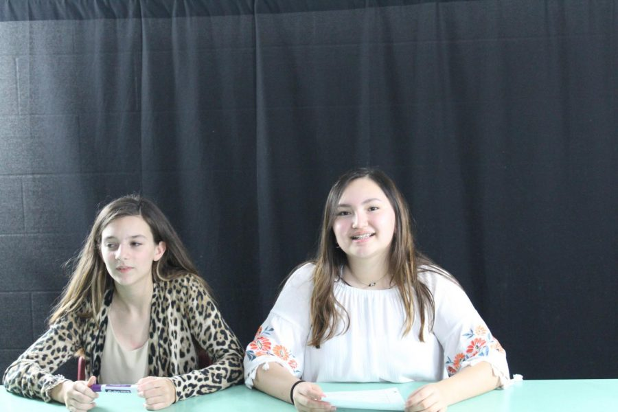 New faces can been seen at the DMS Broadcast Club recording sessions, as Grace Dean and Michelle Robles join the team.