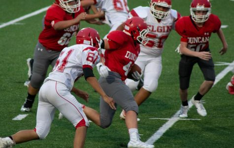 Seventh grade continues winning streak in football