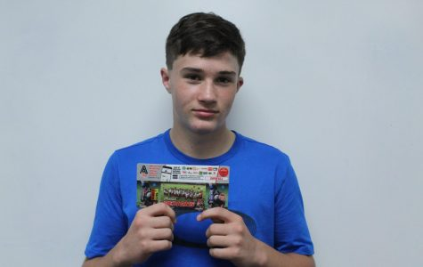 Football team sells coupon cards