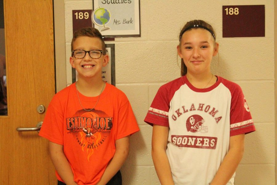 We ask Kynzie Sherill and Nolan Coskrey about there experience at the dance.