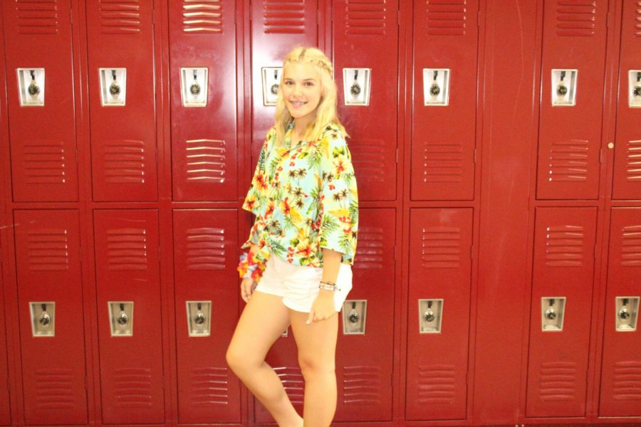 Kenzie Beck tells us abut why she likes being Student Council President.