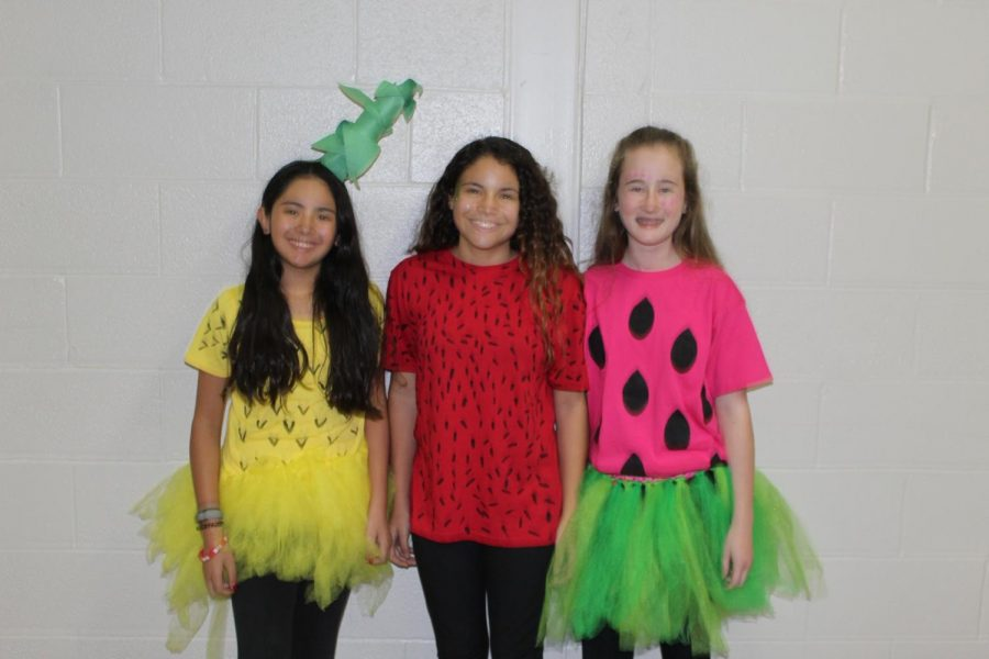 The last time students got to dress up for a theme week was during Spirit Week. Next week, they can participate in the theme days for Red Ribbon Week.