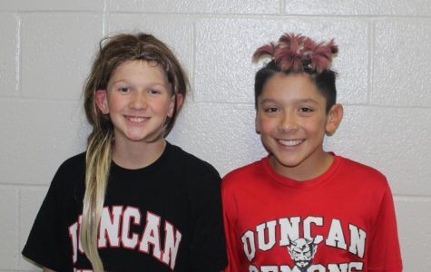 Red Ribbon Week continues with Crazy Hair Day