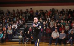 Veterans talked to Duncan Middle School students Friday about Veterans Day.