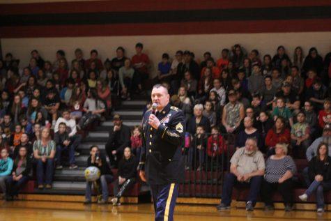 DMS hosts Veterans Day assembly