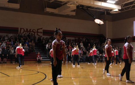 Red Ribbon assembly brings new dance for cheer