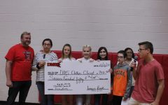 Student council donates funds to clothes closet