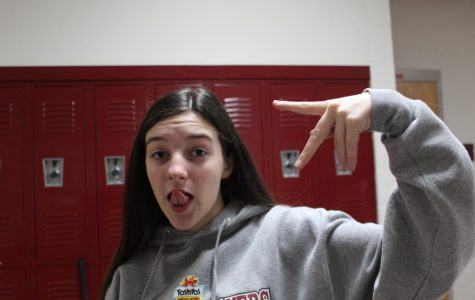 Faces in the DMS Hallways (Grace Dean)