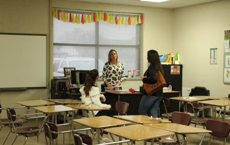 Teachers discuss need for conferences