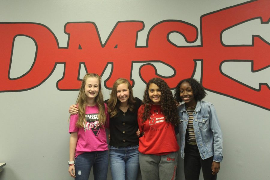 Newly elected Student Council officers were announced today at Duncan Middle School.