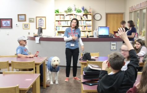 Students learn about Bark in the Park