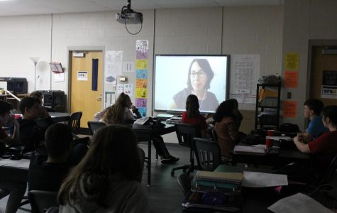 STEM Students Skype a Scientist