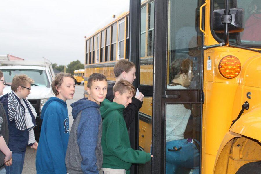 Seventh grade goes to Cameron