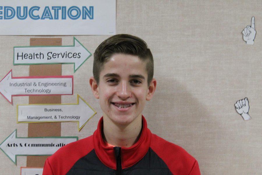 Landon Holthaus Eighth Grade Runner