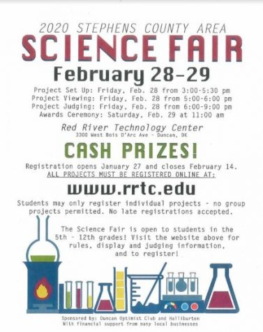 Stephens County Science Fair set for February 28th, 2020