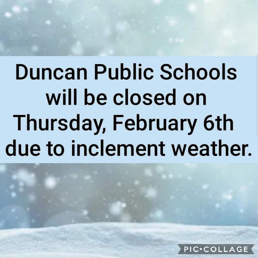 DMS closed Thursday