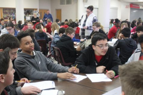 DMS seventh grade enrolls for eighth grade