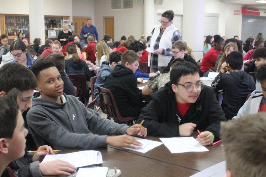 DMS seventh grade enrolls for eighth grade