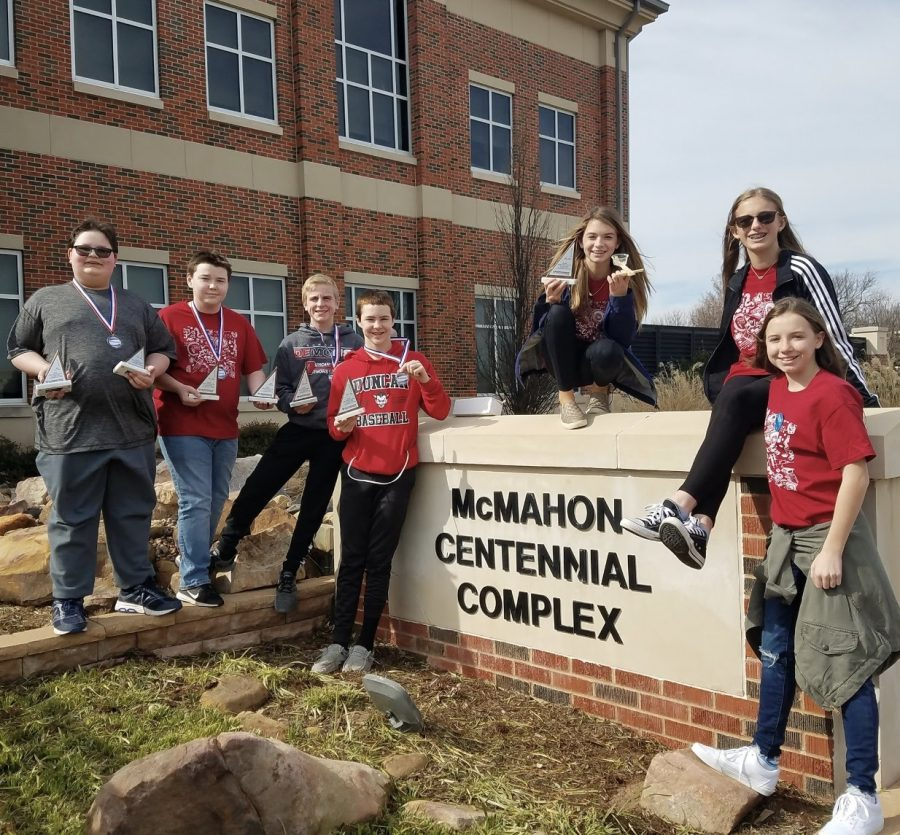 DMS MathCounts team places first in regionals