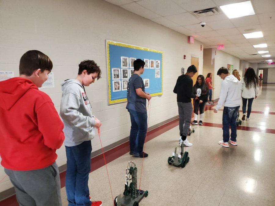 STEM hosts pull toy parade