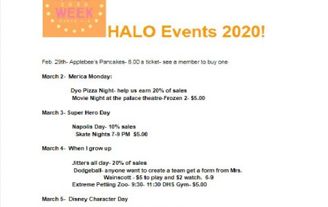 Duncan students to participate in HALO Week