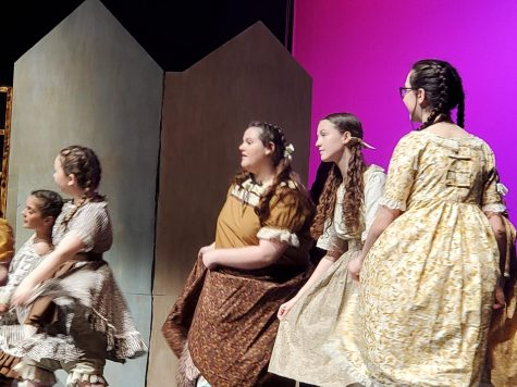 Several middle school students, including Ainsley McEntire, Sadi Blalock and Anavrin Sorenson performed in Duncan Little Theatre