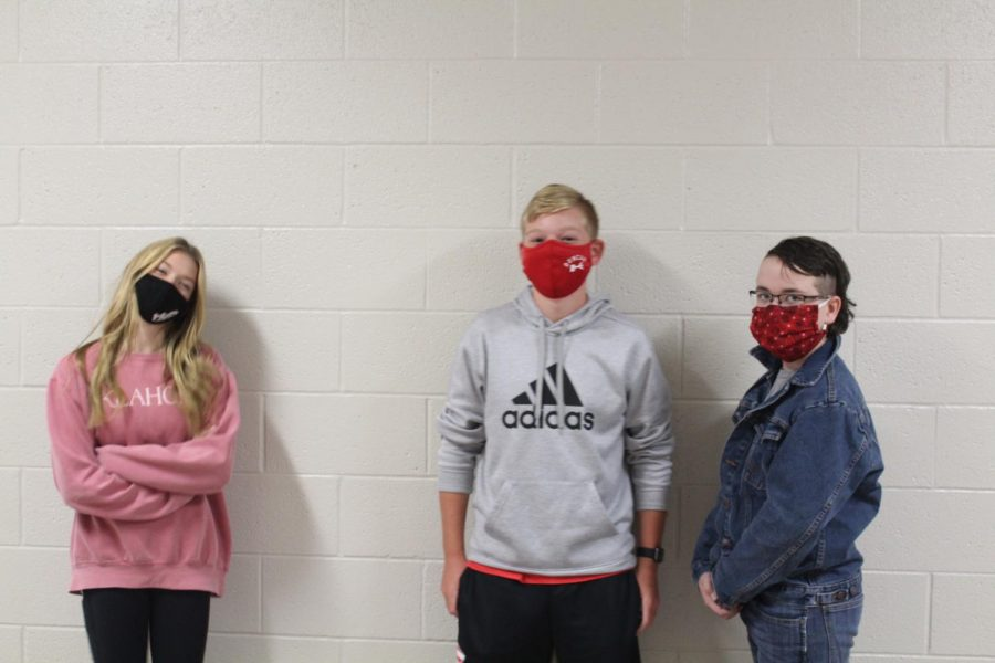Ava Johnson, Brady Earsom and Dylan Hardy are running for Student Council president. The election is slated for Friday.