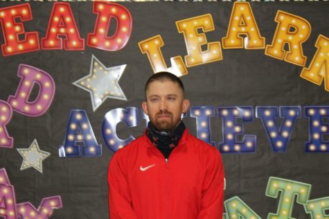 Justin Pena is a new teacher at Duncan Middle School.