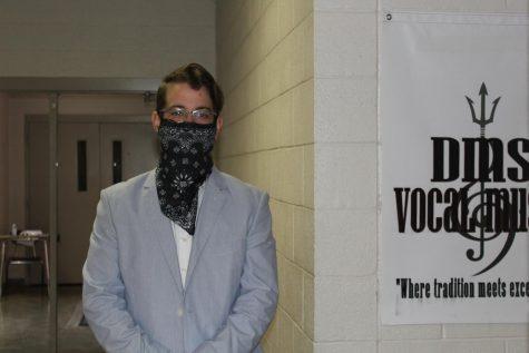 Mark Monteith is the DMS choir director.