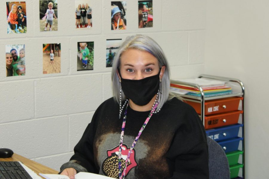 Amber Molina is one of the NJHS sponsors. NJHS is hosting a food drive for Christians Concerned.