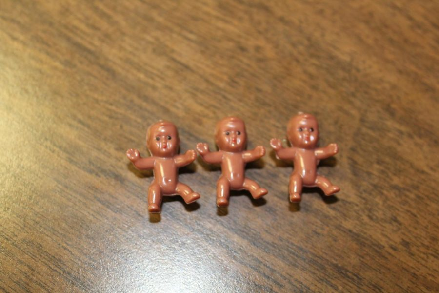 These small, toy babies are popular among Duncan Middle School eighth-graders this school year.
