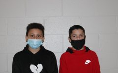 Trey Thomas and Carter Riddles competed in the first wrestling tournament of the school year over the weekend.