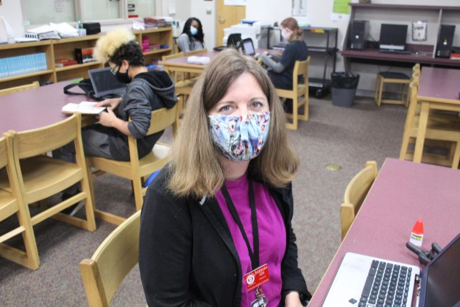 Barbara Gee is the librarian at Duncan Middle School. The DMS Library is not distributing a monthly newsletter.