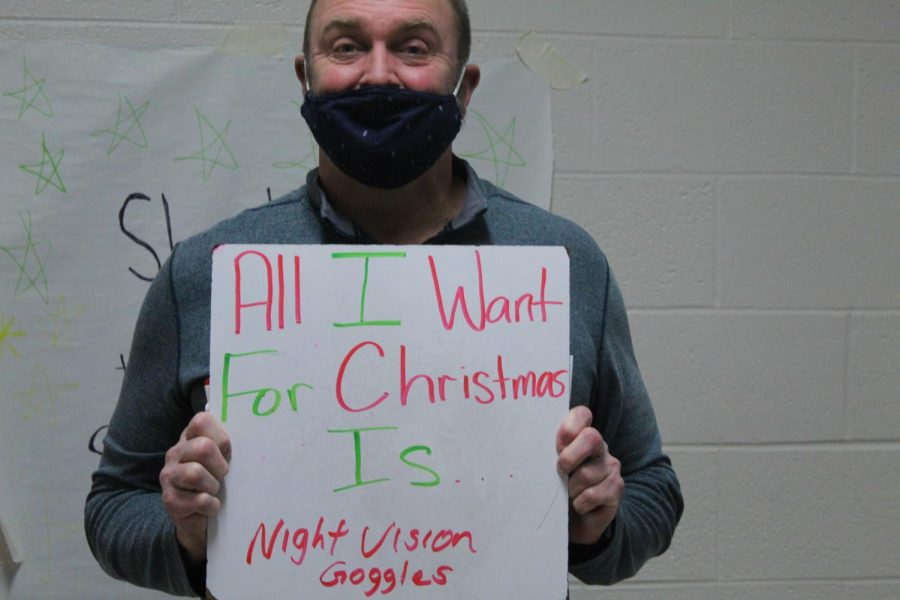 Counselor Bubba Clark gets inventive for his Christmas wish.