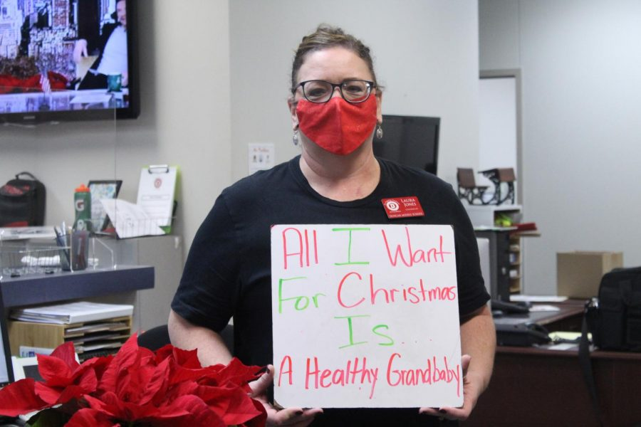 Counselor Laura Jones shares her Christmas wish.