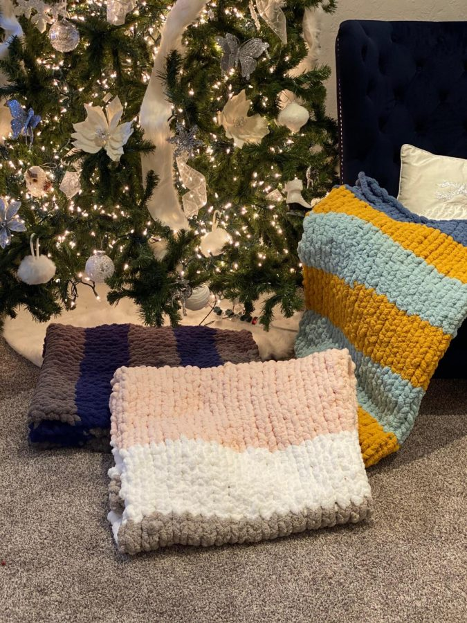 Ava Miller's blanket business is gaining popularity at DMS.