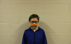 Luke McFatridge is among the DMS Academic Team members ready for Friday's virtual meet.